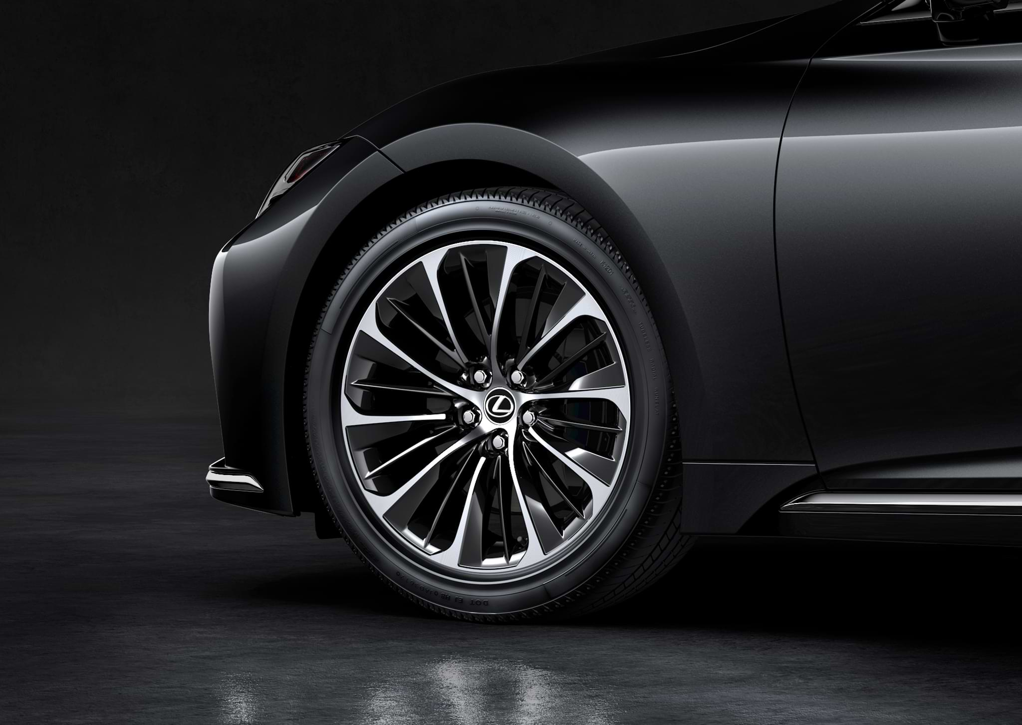 Lexus LS Alloy wheels