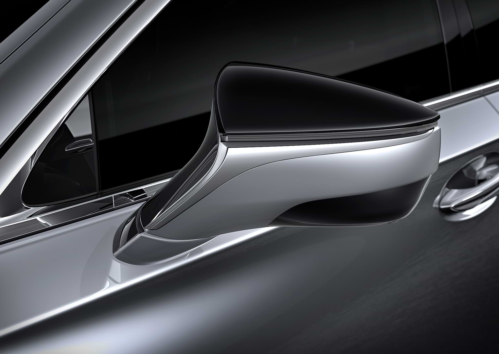 Lexus LS external mirror