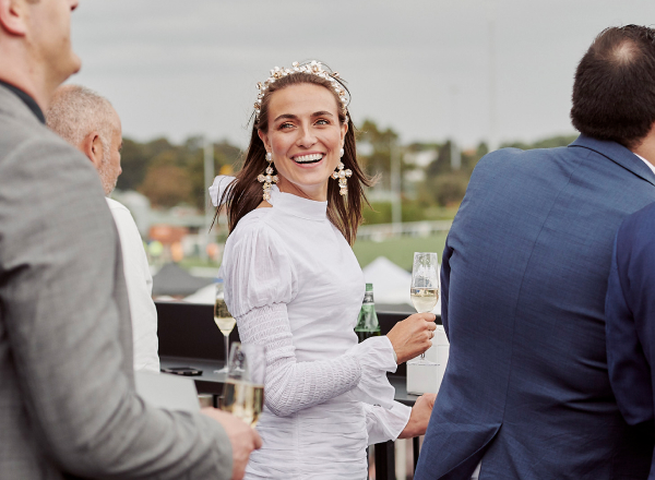Spectator at the Lexus Melbourne Cup 2019